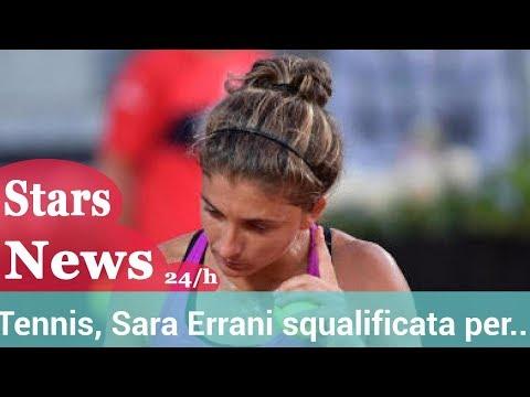 Tennis, Sara Errani squalificata per due mesi.HD
