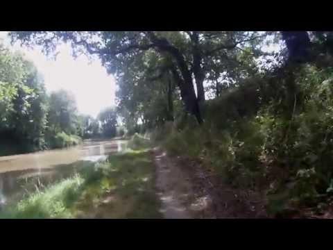 Canal du Midi partie 2 (écluse de Negra vers Carcassone)
