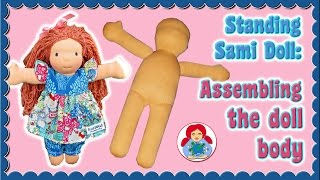 How To Make A Cloth Doll/ Waldorf Doll: Assembling The Body