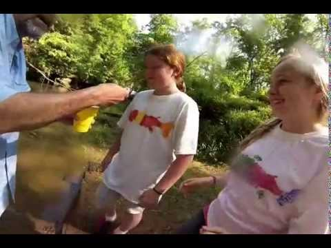 Poage Elementary School Trout Release 2013