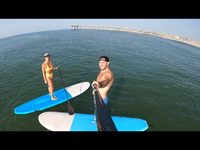 Paddle Boarding, Fishing, and The Best Glazed Donut at the Jersey Shore