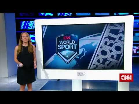 CNN World Sport - New Studio Demo