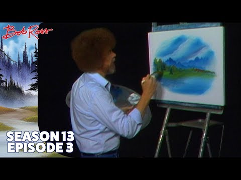 Bob Ross - Meadow Brook (Season 13 Episode 3)