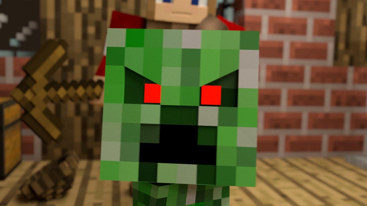 Monster School (Preschool) - Killing Humans! - Minecraft Animation ...