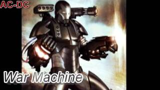 War Machine ac-dc
