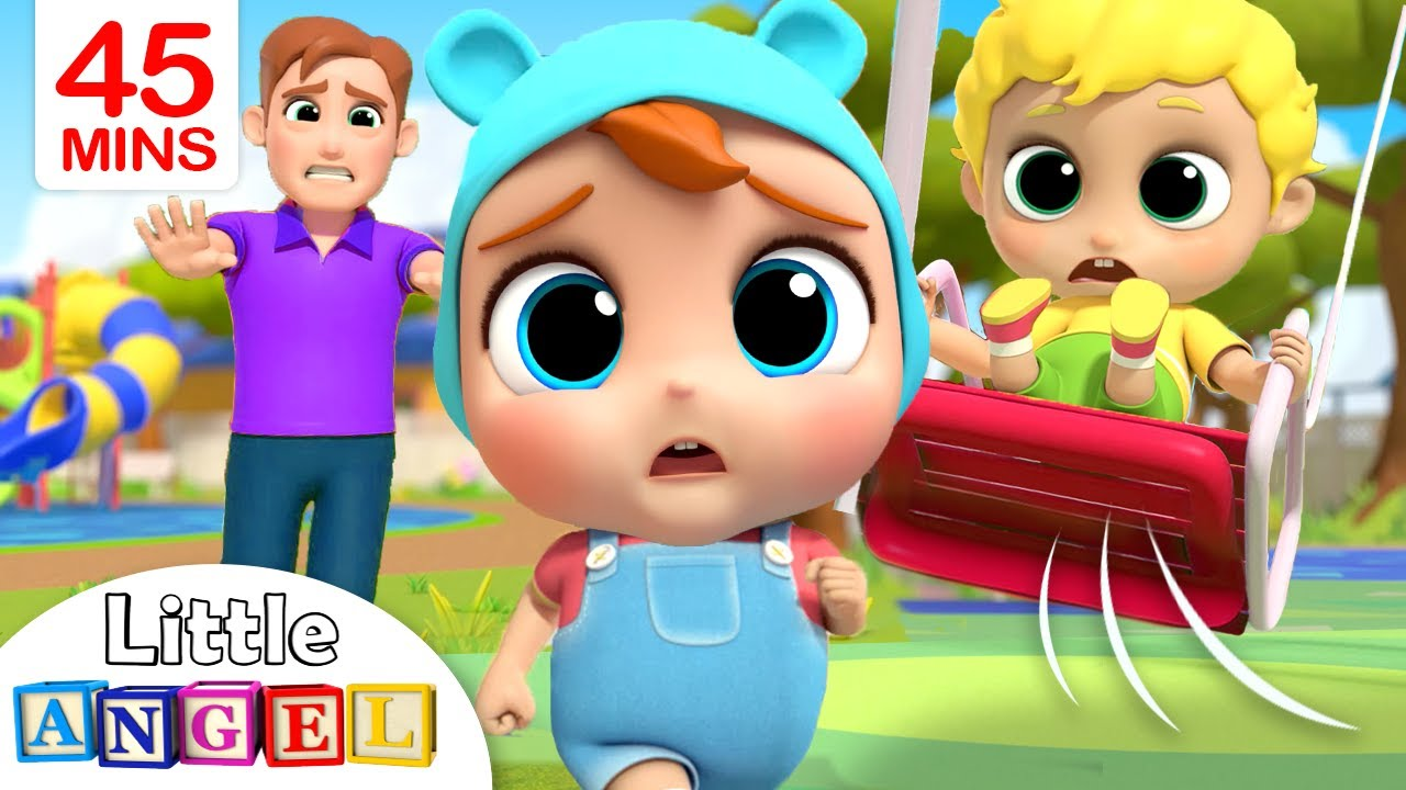 Play Safe at the Playground   Little Angel Kids Songs & Nursery Rhymes