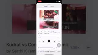 Kudrat Vs Corona Virus Sarthi K Free MP3 Song Download 320 Kbps