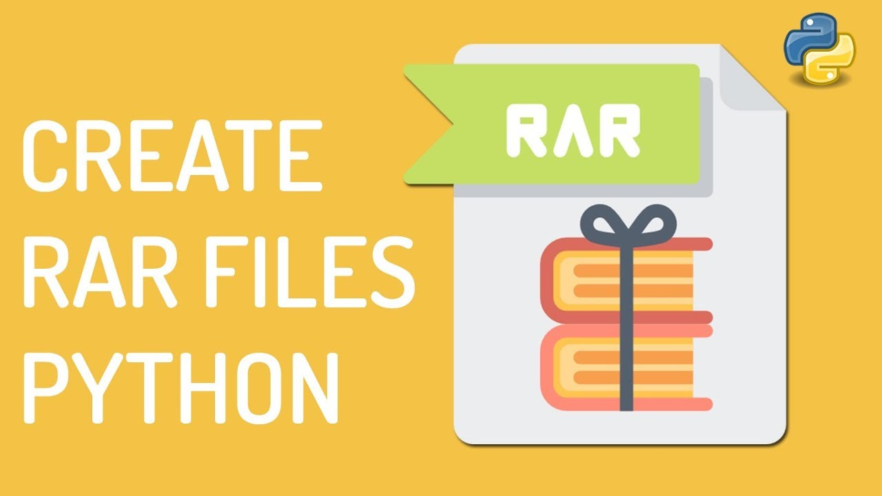 Create RAR Files in Python Using patool Package