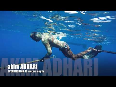 Spearfishing Beauchat Marlin 42 meters Depth
