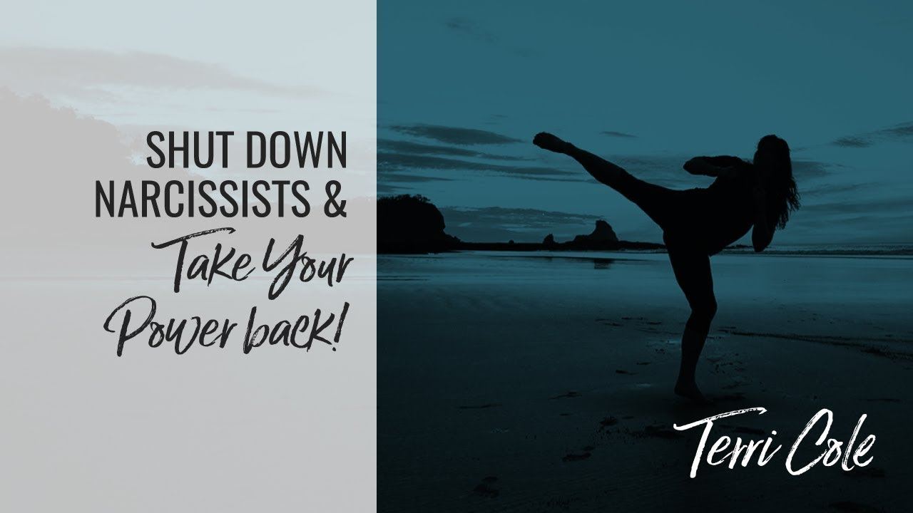3 Boundary Tools to Shut Down a Narcissist Take Your Power Back TC Boundary  Bootcamp RLR 2017