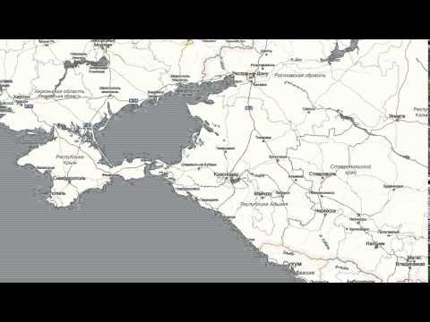 краснодар 6 карта