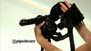 Fetish Fantasy Garter Belt Strap-on Set Product Demo