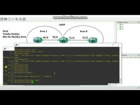 OSPF Stub/Totally Stubby/NSSA Areas Explained