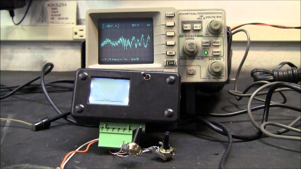 Diy arduino oscilloscope with the nokia glcd screen