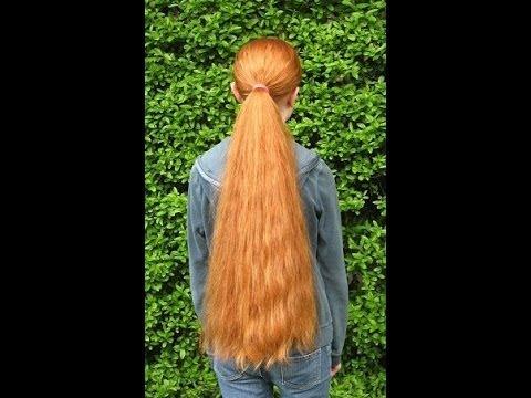 haircut long and thick