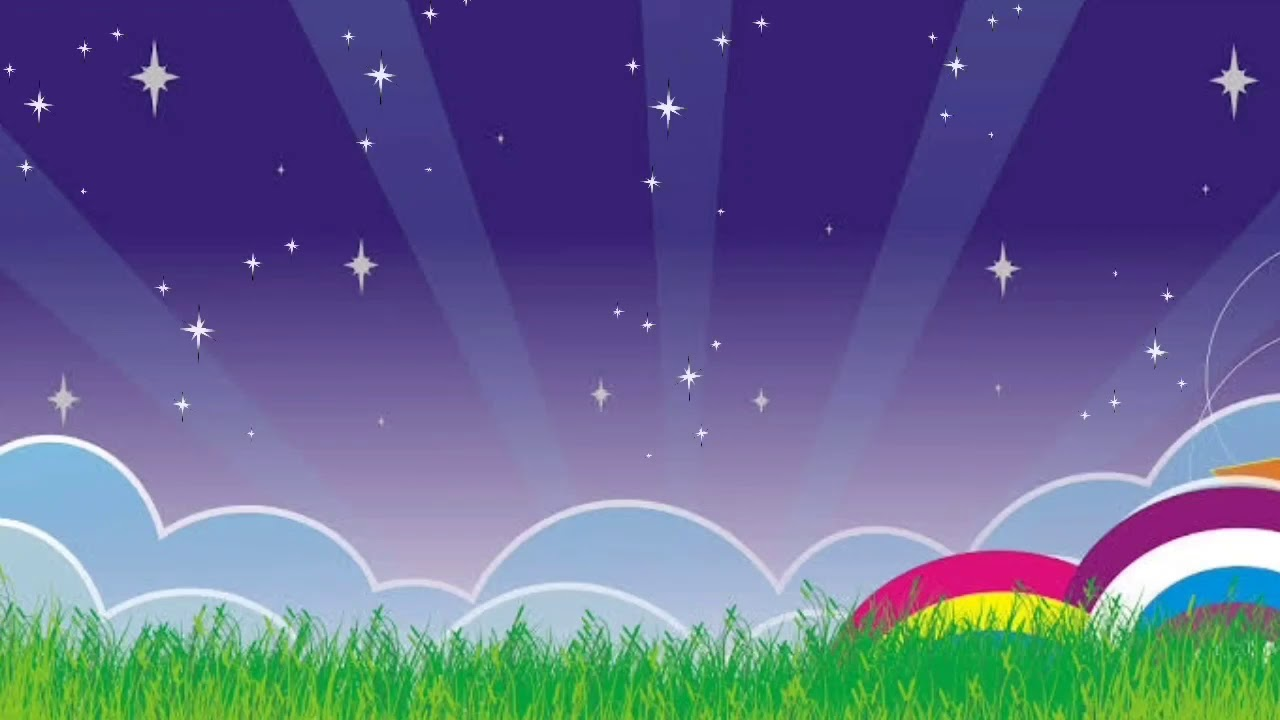 Background Animasi Langit Malam || Latar Belakang Video - YouTube