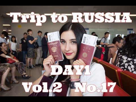 trip to russia day1