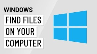 Windows Basics: Finding Files on Your Computer