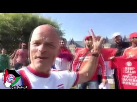 FC BAYERN FANS KUWAIT VISTING QATAR