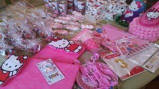 أفكار لتحضير و تزيين طاولة عيد ميلاد جميلة و اقتصادية للاطفال