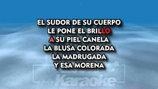 Julio Iglesias   Baila Morena   Karaoke MM