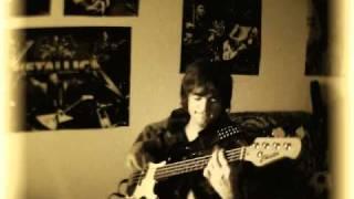 Агата Кристи-Как на войне ( партия бас-гитары)