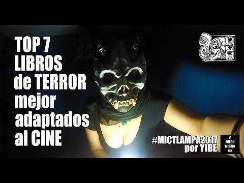 TOP 7 LIBROS de TERROR mejor adaptados al CINE / CINEstro por YIBE