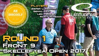 Skellefteå Open 2017 Round 1 Front 9
