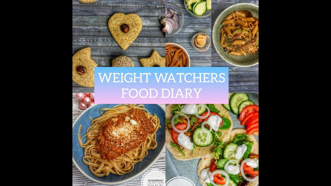 Weight Watchers FOOD DIARY/ Meine erste Woche mit WW - YouTube