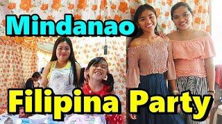 Traditional Filipina Celebration Mindanao Philippines