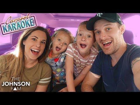 FAMILY CARPOOL KARAOKE!