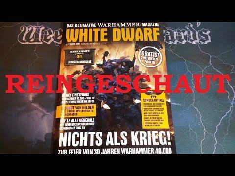 REINGESCHAUT: White Dwarf - September 2017 (09/2017)
