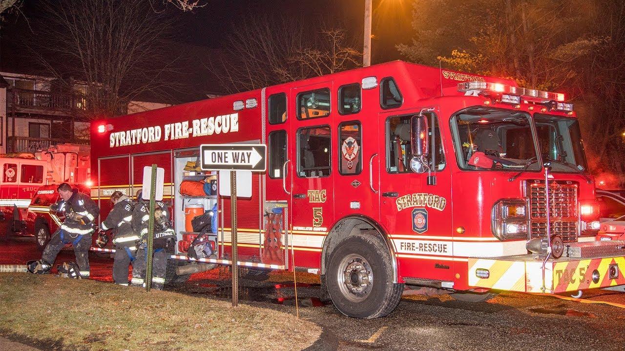 Broadbridge Ave Condo Fire (Stratford, Ct) 1/28/18
