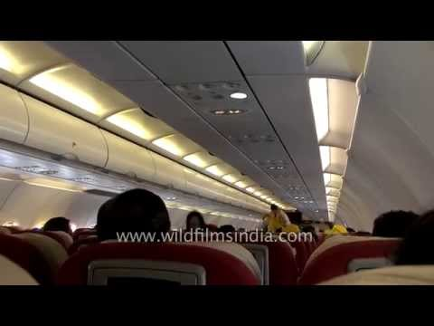 Inside a Kingfisher Airlines flight