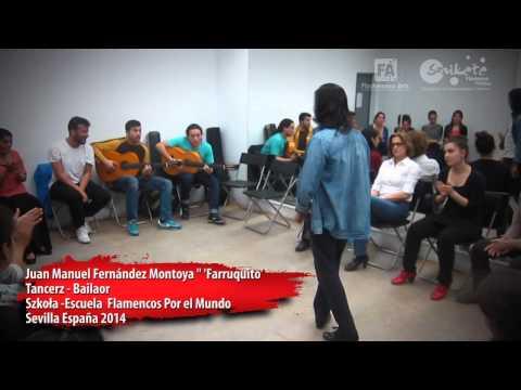 Farruquito en Escuela  Flamencos por el Mundo | Sevilla 2014