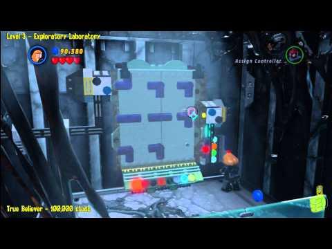 Lego Marvel Super Heroes: Level 3 Exploratory Laboratory - Story Walkthrough - HTG