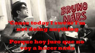 BRUNO MARS - THE LAZY SONG / SUBTITULADA (INGLES/ESPAÑOL)