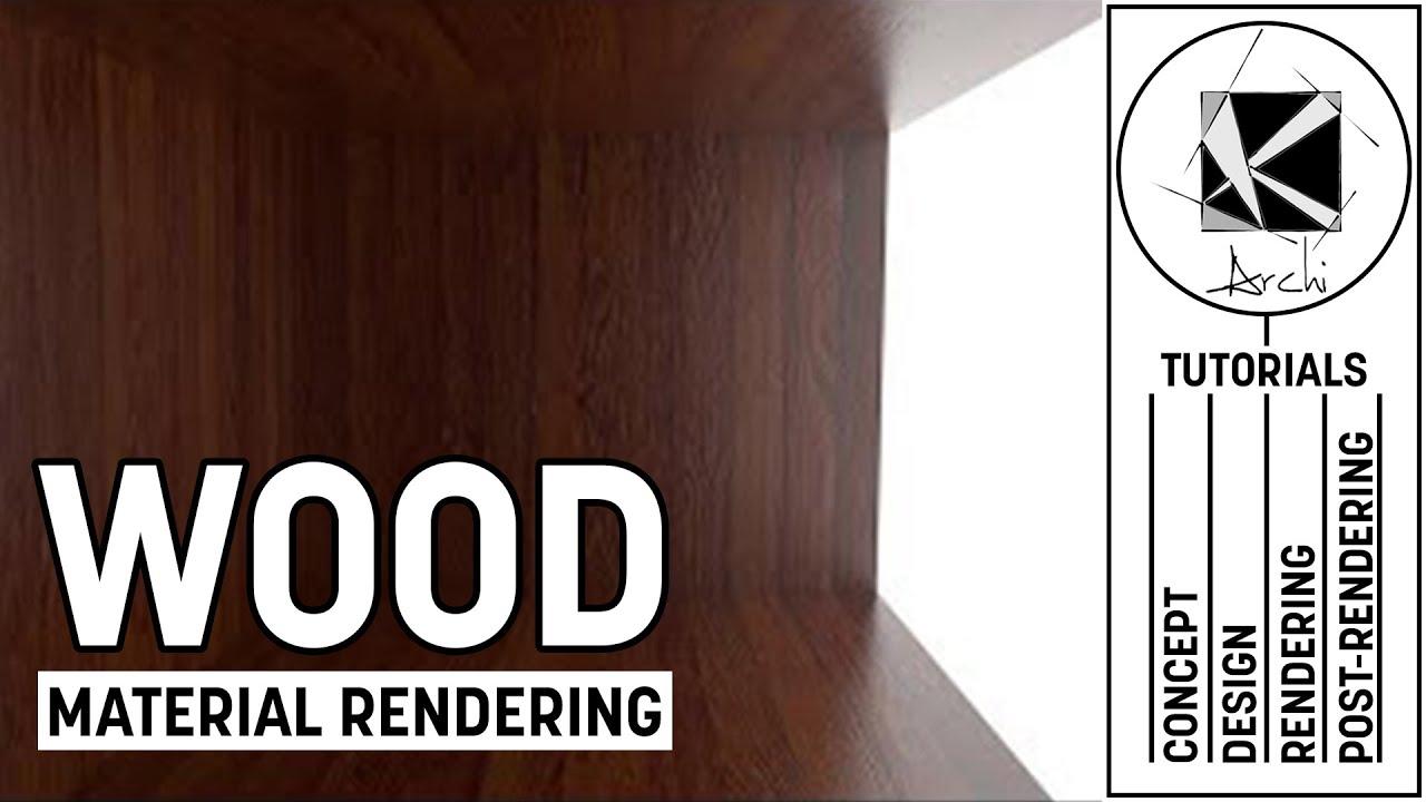 Wood Material Tutorial - Vray 3 4 Sketchup 2016-2017