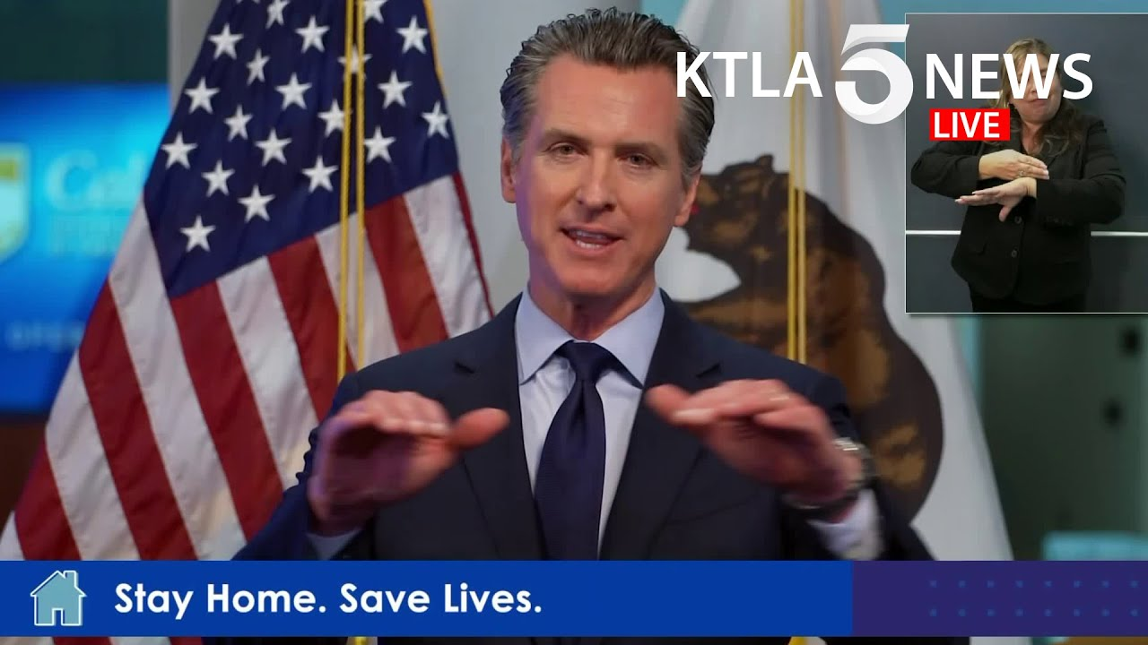California Governor Gavin Newsom lifts COVID stay-at-home orders