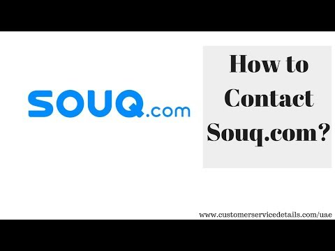 Souq com Customer Service Toll Free Helpline Number, Email ID