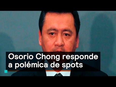 Osorio Chong responde a polémica de spots - Denise Maerker 10 en punto