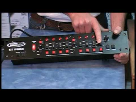 Awesome DJ Band 8 Channel Light Controller for up to 8 ...