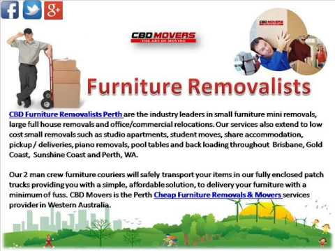 House & Office Removalists Perth | Furniture & House Movers Perth
