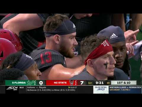 Another NC State defensive starter will miss the game against ...
