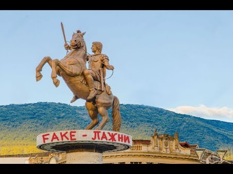 "Propaganda Project: ""Skopje 2014"" - FYROM - Fake Former Yugoslav Republic Of ""Macedonia"""