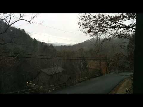 Snow In Sevierville,Tennessee