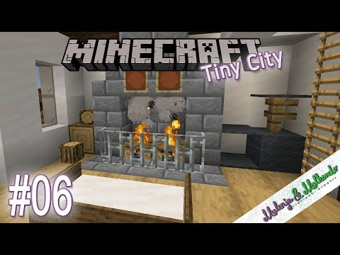 Minecraft Tiny City #06 - Lagerfeuer Im Kamin | Minecraft 1.14