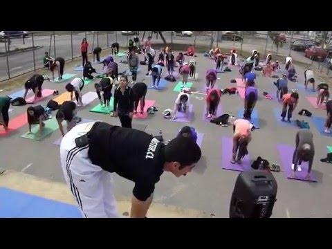 Expo yoga Pilates Santiago 2015