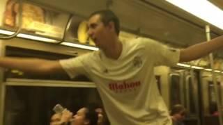 Como No Te Voy a Querer! Celebrating La Undécima on the train in NYC