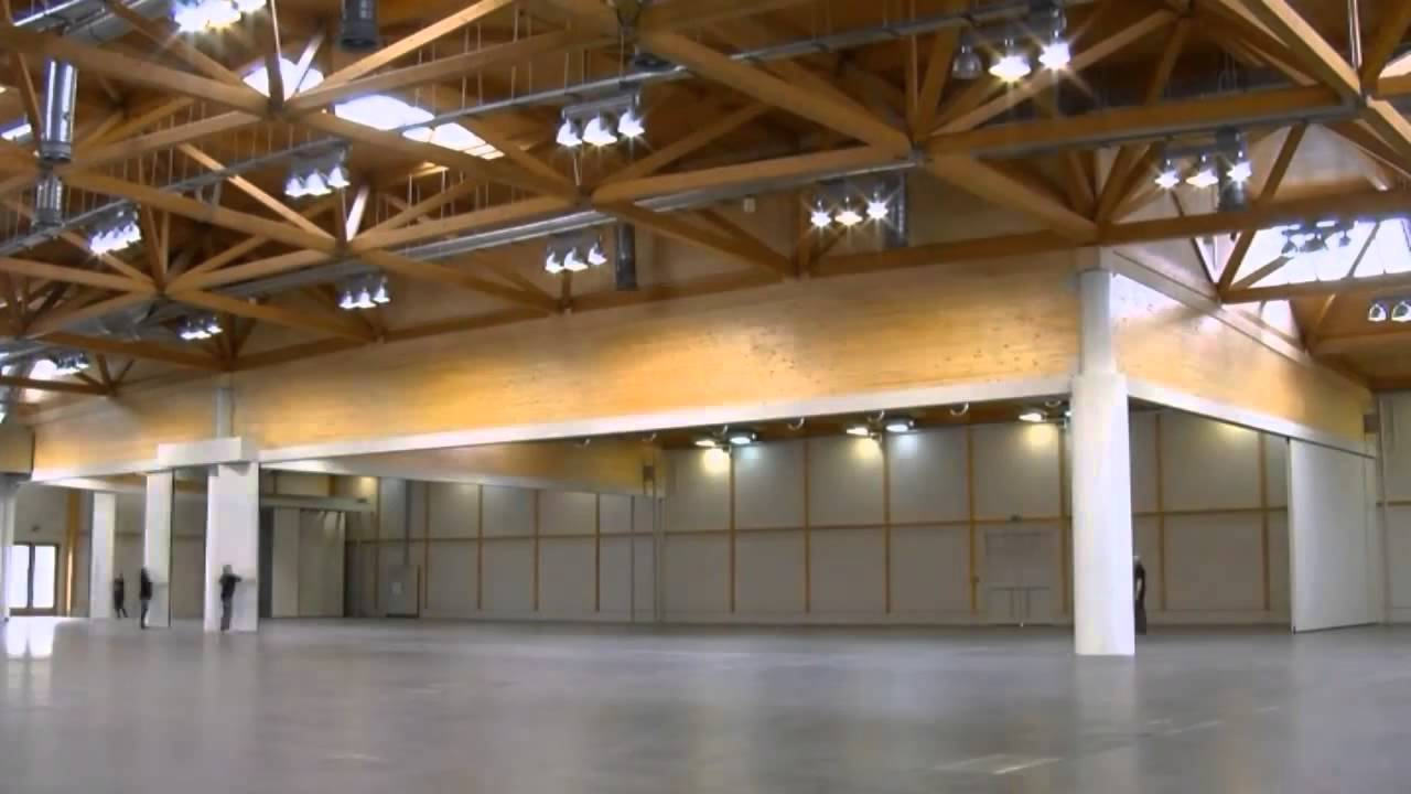 hufcor space paneelwand messe magdeburg - youtube